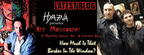 NEW HYAENA BLOG: &#8220;How Much Is That BARKER In The Window?&#8221;