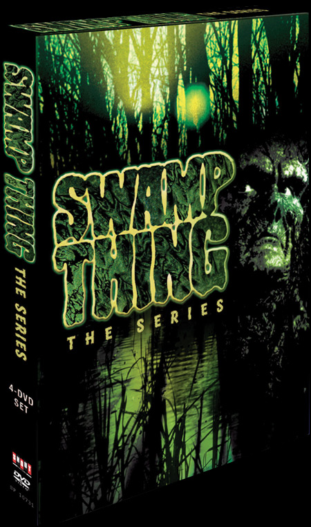 Remember SWAMP THING? THE SERIES On DVD January, 22nd, 2008!