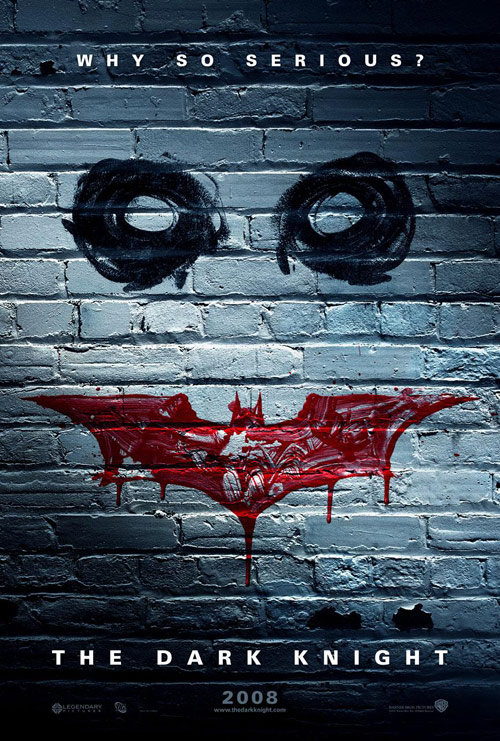 "The JOKER asks ""Why So Serious?"" – THE DARK KNIGHT Teaser Poster!"