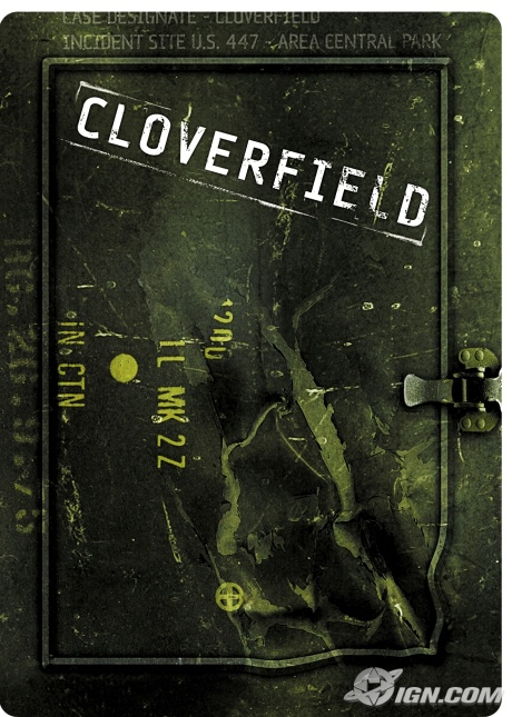 Cloverfield Suncoast Exclusive DVD