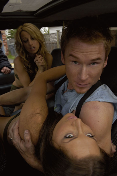 "Zack Ward and the girls of ""Postal"""